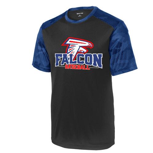 Falcon Baseball - Camo Hex Shirt