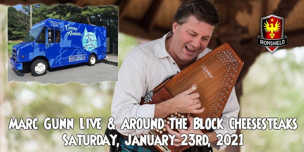 Mark Gunn Live Music & Around the Block Cheesesteaks