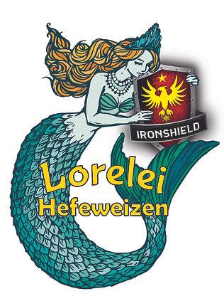 Lorelei Hefeweizen T shirt graphic no fi