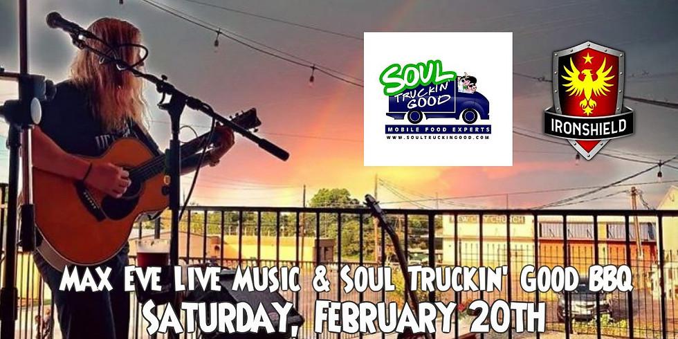Max Eve Live Music & Soul Truckin' Good BBQ