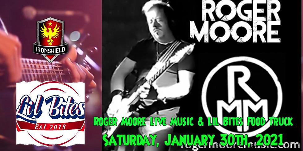 Roger Moore Live Music & Lil Bites Food Truck