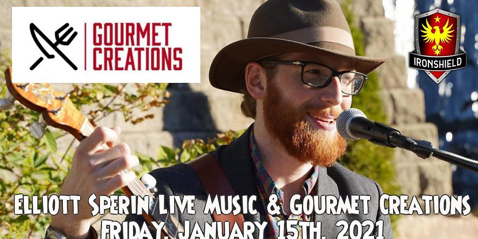 Elliott Sperin Live Music & Gourmet Creations Catering