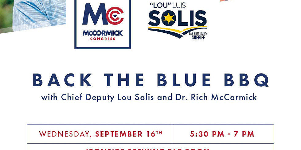 Back the Blue - Public Meet and Greet