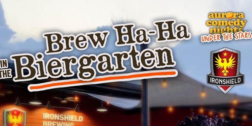 Brew Ha-Ha in the Biergarten