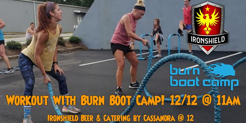 Burn Boot Camp Workout, Max Eve Live Music and Catering by Cassandra!