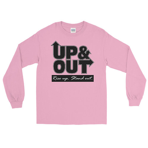Up & Out   Rise Up Stand Out Long Sleeve Shirt