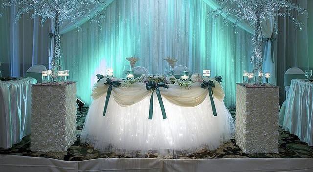 Wedding uplighting blue head table.JPG