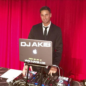 DJ Akib at the Radio Hall of Fame Awards