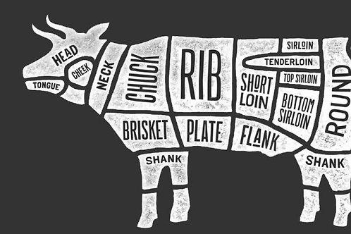 Custom Cut- Full Side Beef