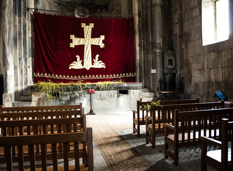 An Explanation for the Practice of Drawing the Altar Curtain and of Veiling off the Altar during