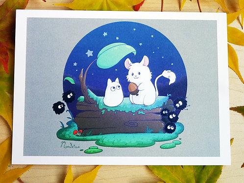 Totoro Fanart Print