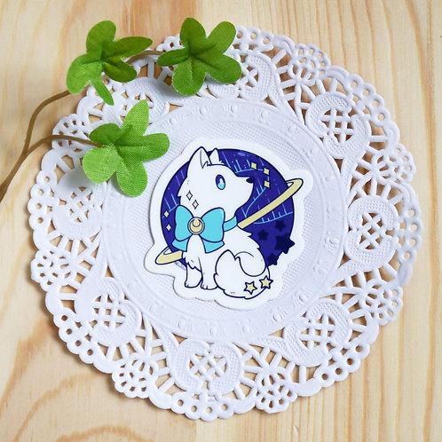 Vinyl Sticker: The Snow Pup