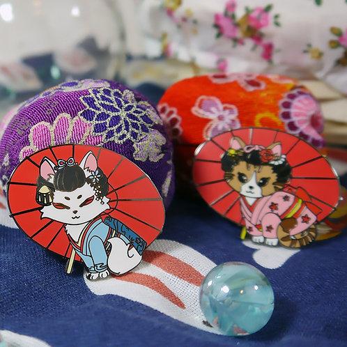 Japanese Festival: Geisha Cat