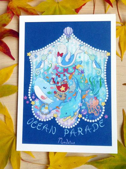 Ocrean Parade Print