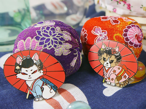 Japanese Festival: Maiko Cat