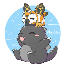 Godzilla and Mothra Friendship