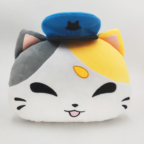 Plush Cushion: Mochi the Delivery Cat