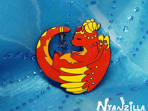 Flamie the Fire Dragon Pin