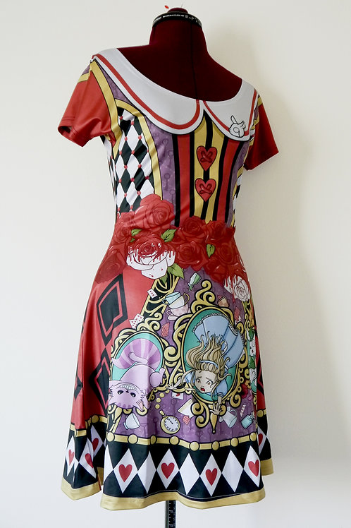 MADE TO ORDER: Alice in Wonderland Dress
