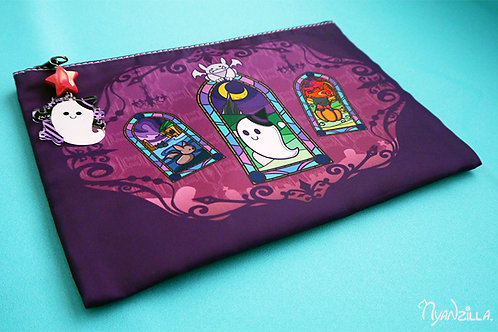 Haunted Mansion with Spooks Charm Accessory Bag
