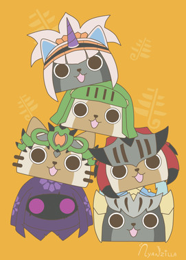 Stack of Airou