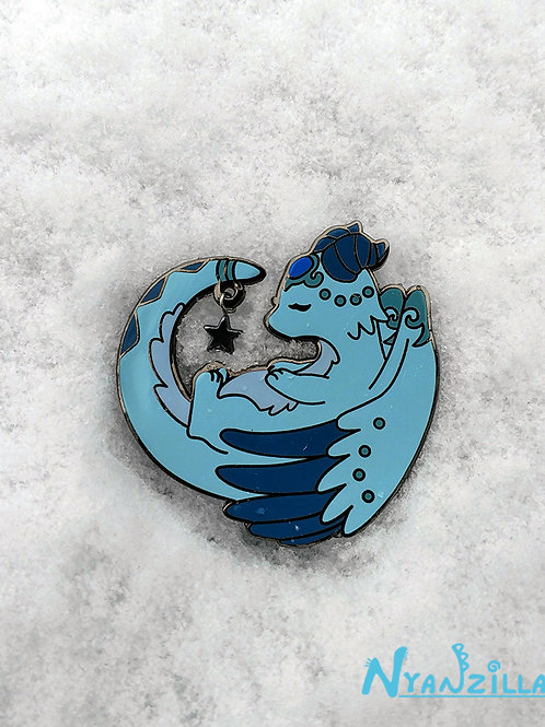 Glacie the Ice Dragon Pin