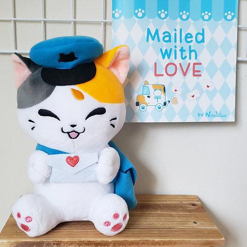 Plush: Mochi the Delivery Cat
