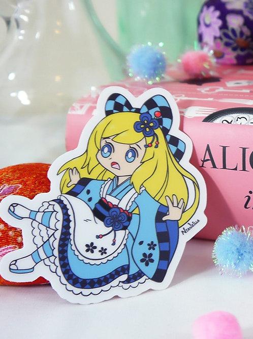 Vinyl Sticker: Alice