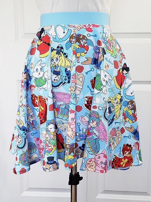 MADE TO ORDER: Alice in Kyoto Wonderland Skirt