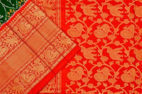 Indo fabric pochampalli silk saree PSIF060041