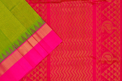 Amrith weaves creation silk Cotton saree PSAC090139