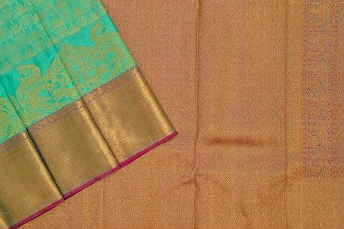 Bridal Kanjivaram silk saree SS1876