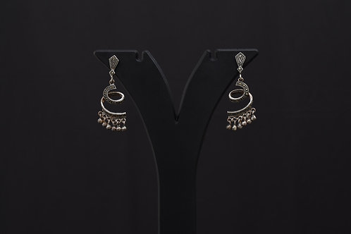Lasya Silver Earrings PSLA180027