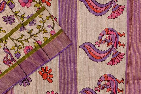 Tussar silk saree SS2111