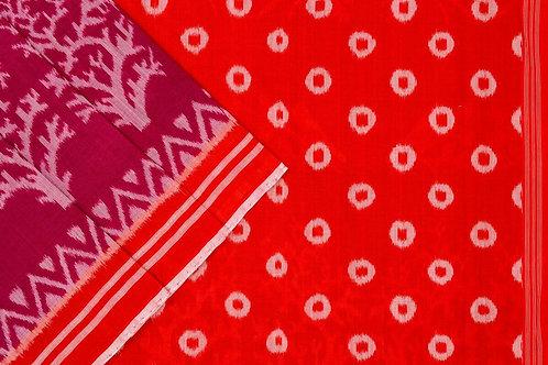 Ira Creations Sambalpuri Cotton Saree PSIC12IRA17