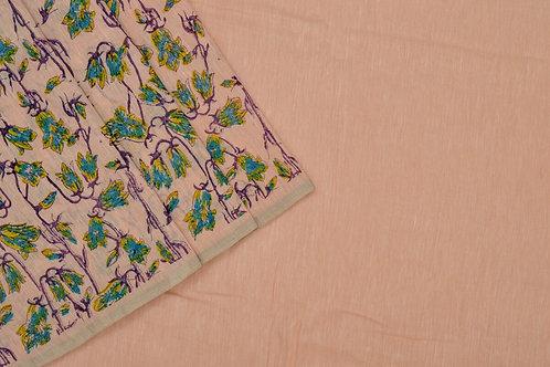 Coorv designs linen saree PSCO110017