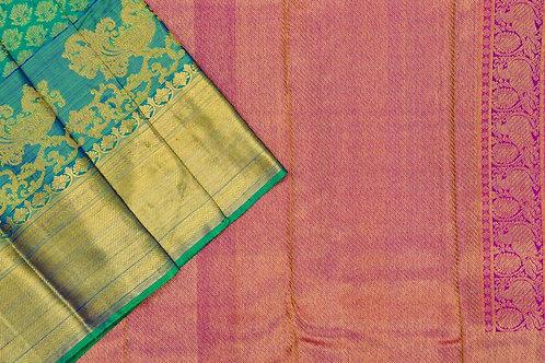 Bridal Kanjivaram silk saree SS1740