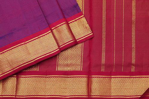 Tharakaram nine and a half yards silk saree PSTK040150