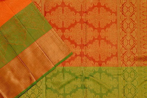 Bridal Kanjivaram silk saree SS1878