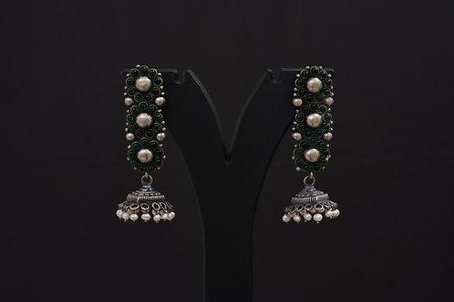Alankrita Silver Earrings PSAL1013