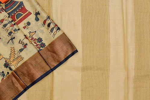 Shreenivas silks Tussar silk saree PSSR012105