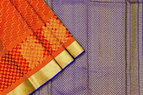 Kanjivaram silk saree SS1560