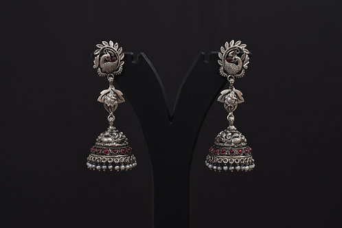 Alankrita Silver Earrings PSAL1015