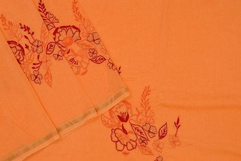 Coorv designs chanderi saree PSCO110067