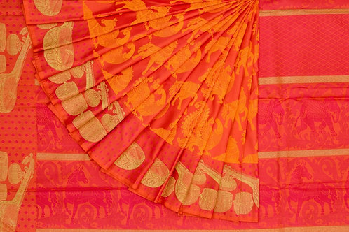Kanjivaram silk saree SS1596