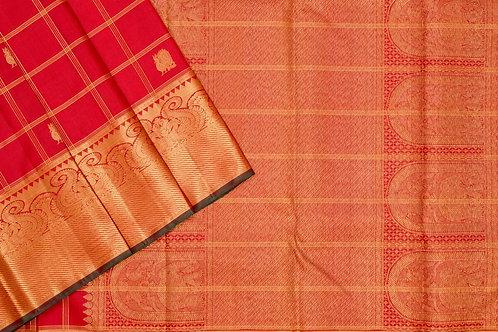 Kanjivaram silk saree SS1862