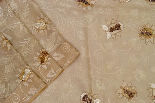 Amritha Organza silk saree PSAM160009