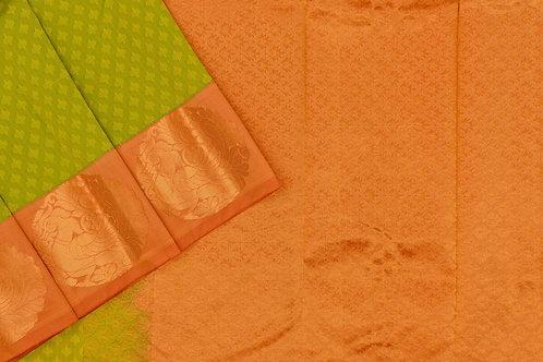 Blended silk saree SS2195