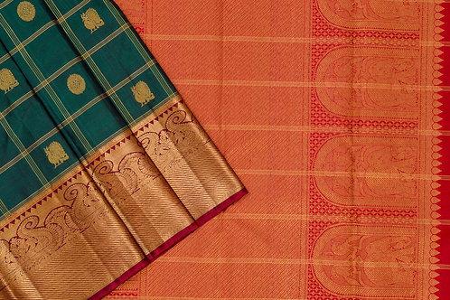 Kanjivaram silk saree SS1786
