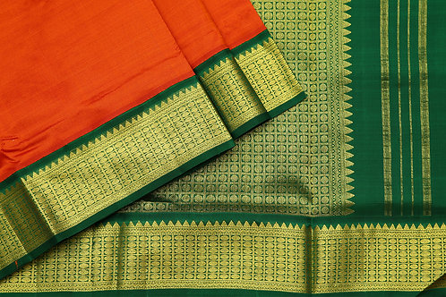 Tharakaram nine and a half yards silk saree PSTK040147